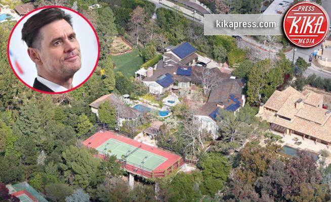 Casa, Jim Carrey - Los Angeles - 19-02-2010 - Brucia la California, in fiamme le case delle star