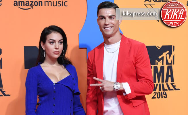 Georgina Rodriguez, Cristiano Ronaldo - Seville - 03-11-2019 - MTV EMA, CR7 e Georgina Rodriguez star sul red carpet