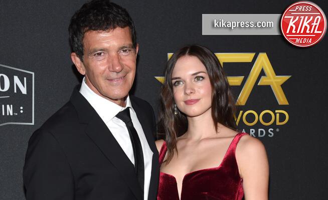 Stella Banderas, Antonio Banderas - Beverly Hills - 03-11-2019 - Antonio Banderas, agli Hollywood Film Awards con la sua Stella