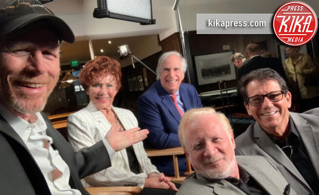 Marion Ross, Anson Williams, Donny Most, Ron Howard, Henry Winkler - 18-11-2019 - Happy Days compie 45 anni: gli attori ieri e oggi