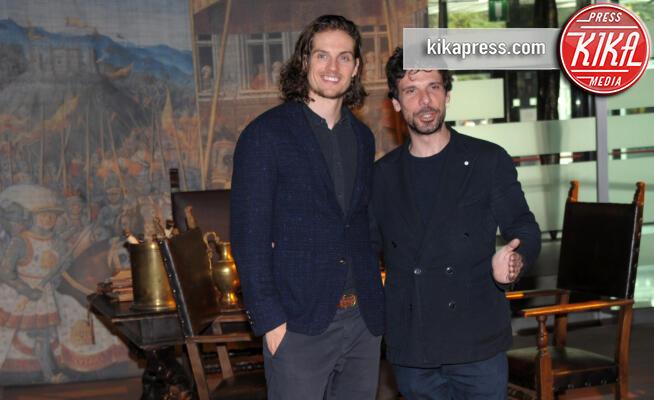 Daniel Sharman, Francesco Montanari - Roma - 29-11-2019 - I Medici, arriva la terza stagione. Montanari sarà Savonarola