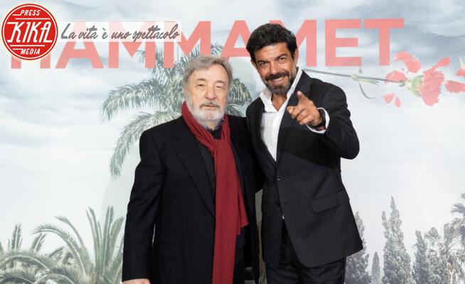 Pierfrancesco Favino, Gianni Amelio - Roma - 08-01-2020 - Hammamet: Favino e Amelio raccontano il declino di Craxi