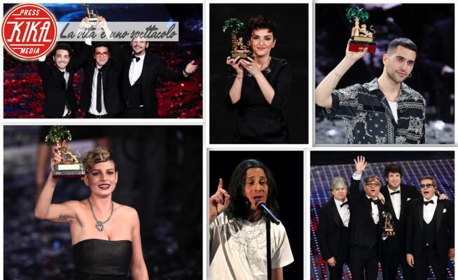Sanremo - Sanremo - 14-01-2020 - Sanremo, i vincitori degli ultimi 15 anni