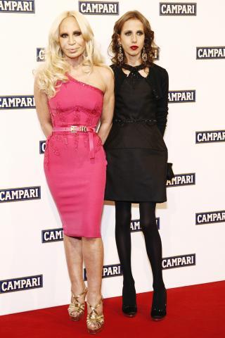 Allegra Versace, Donatella Versace - Milano - 03-12-2008 - Allegra Versace, ecco come è cambiata