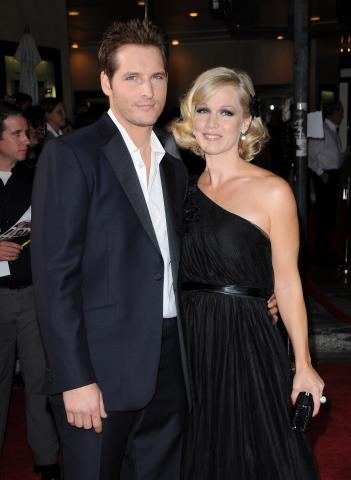 Peter Facinelli, Jennie Garth - Westwood - 03-12-2008 - Un italiano tra i vampiri di Twilight