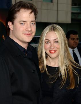 """moglie, Brendan Fraser - Beverly Hills - 26-04-2005 - Fraser e Weisz in """"La mummia 3"""""""