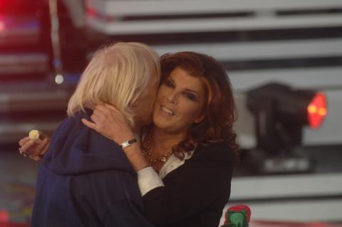 """Patrizia De Blanck, Carlo Capponi - Milano - 01-12-2008 - Carlo Capponi confessa: """"Ho baciato la contessa sull'Isola"""""""