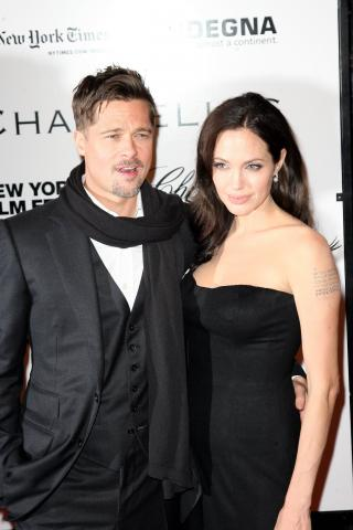 Angelina Jolie, Brad Pitt - New York - 04-10-2008 - Brad Pitt esplorera' l'Amazzonia nel film The Lost City of Z