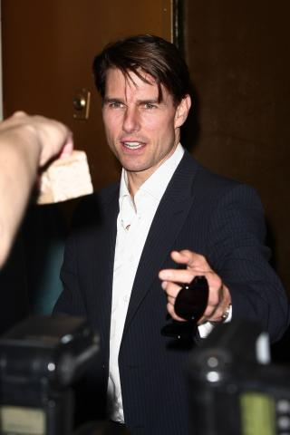 Tom Cruise - New York - 19-09-2008 - Tom Cruise teme per la sua vita