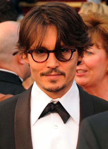 Johnny Depp - Hollywood - 28-02-2008 - Johnny Depp è il più desiderato dai fans per l'Oscar come migliore attore