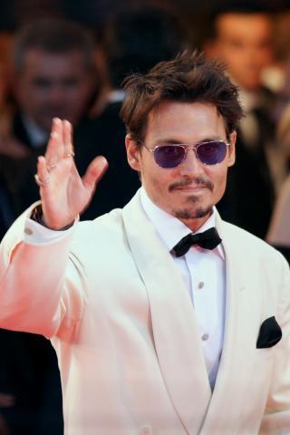 Johnny Depp - Venezia - 06-09-2007 - Johnny Depp è il più desiderato dai fans per l'Oscar come migliore attore