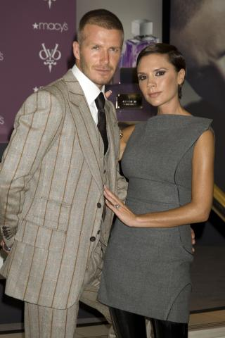 David Beckham, Victoria Beckham - New York - 26-09-2008 - David Beckham conteso tra 'Grande Fratello 9' e Sanremo