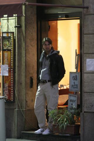 """Marco Borriello - Milano - 04-04-2007 - Marco Borriello: """"Amo ancora Belen Rodriguez ma non sara' mai la madre dei miei figli"""""""