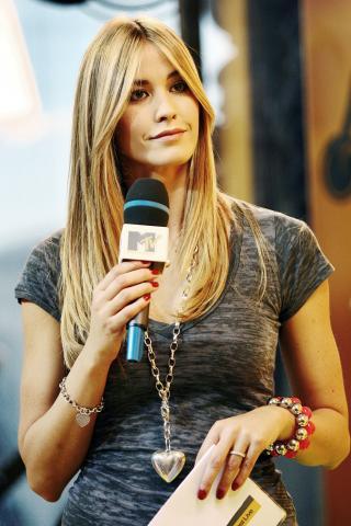 Elena Santarelli - Milano - 15-10-2008 - Elena Santarelli e' in attesa del suo primo figlio