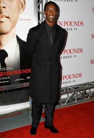 Isaiah Washington - Los Angeles - 16-12-2008 - Isaiah Washington e Michael K Williams interpreti di The suspect