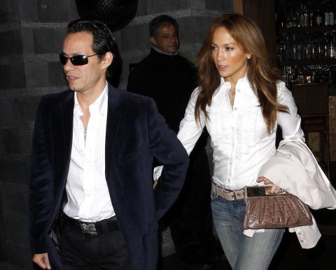Marc Anthony, Jennifer Lopez - Beverly Hills - 15-12-2008 - Aria di crisi per il matrimonio di Jennifer Lopez