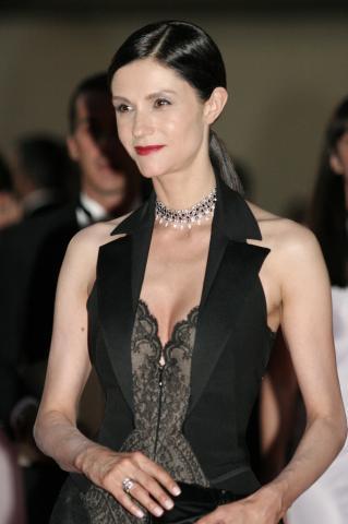 Alessandra Martines - Milano - 15-07-2007 - Nicolas Sarkozy premia Alessandra Martines