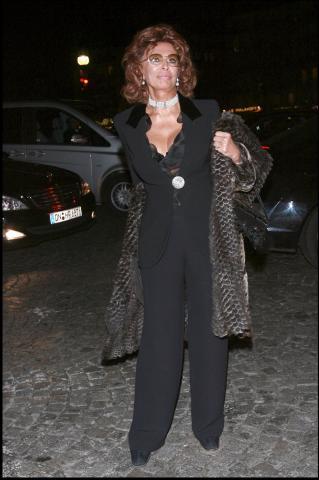 """Sophia Loren - Parigi - 21-01-2008 - Sofia Loren: """"Gomorra vincera l'Oscar"""""""