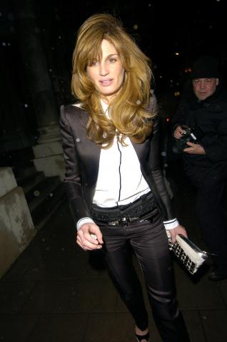 Jemima Khan - Londra - 13-02-2007 - La nuova fiamma di Guy Ritchie potrebbe essere Jemima Khan