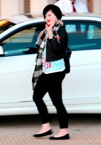 Kelly Osbourne - Beverly Hills - 18-12-2008 - Kelly Osbourne arrestata per aver aggredito una giornalista