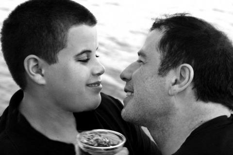 Jett Travolta, John Travolta - Los Angeles - 05-01-2009 - Cremato alle Bahamas il figlio di John Travolta