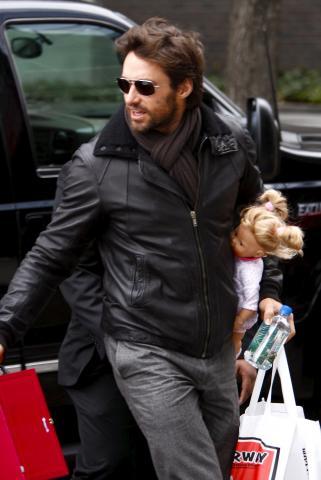Hugh Jackman - New York - 07-01-2009 - Hugh Jackman porta i suoi personaggi anche sotto le coperte