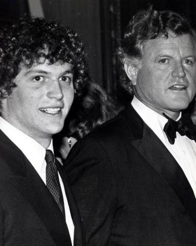 Ted Kennedy Jr., Ted Kennedy - New York - 05-02-1982 - USA: morto a 77 anni il senatore Ted Kennedy