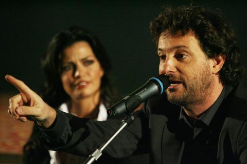 Laura Torrisi, Leonardo Pieraccioni - Milano - 07-01-2009 - Amore finito fra Leonardo Pieraccioni e Laura Torrisi