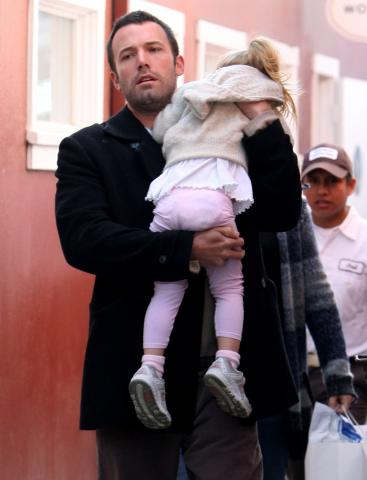 Ben Affleck - Los Angeles - 07-01-2009 - Nata la seconda figlia di Ben Affleck e Jennifer Garner