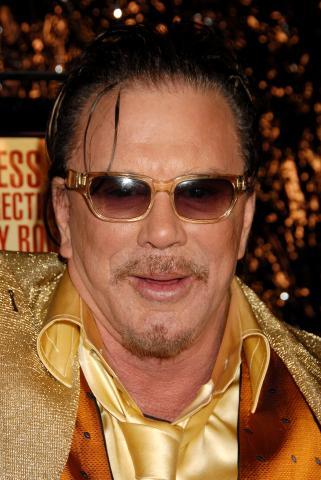 Mickey Rourke - Westwood - 16-12-2008 - Mickey Rourke fara' Iron Man 2