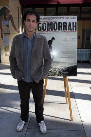 Matteo Garrone - Hollywood - 01-10-2009 - Oscar: Gomorra escluso dalle nomination