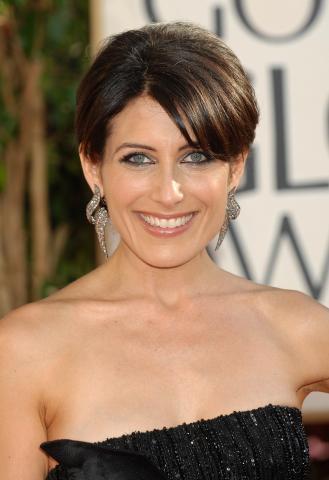 Lisa Edelstein - Beverly Hills - 12-01-2009 - Ai Golden Globe trionfa la frangia