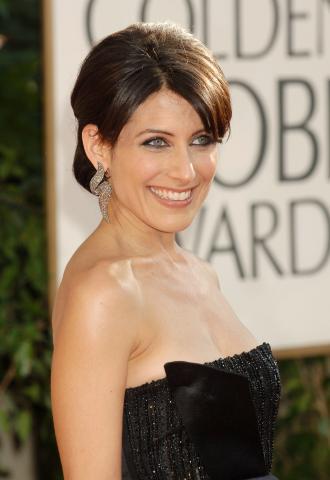 Lisa Edelstein - Beverly Hills - 11-01-2009 - Ai Golden Globe trionfa la frangia