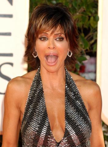Lisa Rinna - Beverly Hills - 12-01-2009 - Ai Golden Globe trionfa la frangia