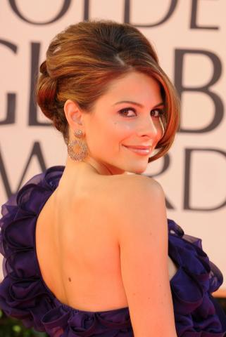 Maria Menounos - Beverly Hills - 12-01-2009 - Ai Golden Globe trionfa la frangia