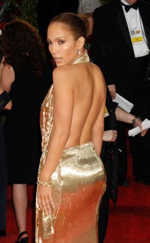 """Jennifer Lopez - Beverly Hills - 12-01-2009 - Jennifer Lopez senza la fede ai Golden Globe """"perchè non andava con il vestito"""""""