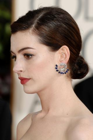 Anne Hathaway - Beverly Hills - 11-01-2009 - Golden Globes: i gioielli
