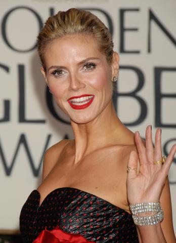 Heidi Klum - Beverly Hills - 12-01-2009 - Golden Globes: i gioielli