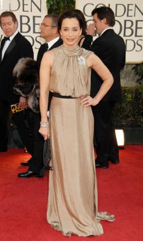 Kristin Scott Thomas - Beverly Hills - 11-01-2009 - Golden Globes: i gioielli