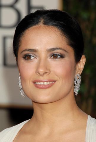 Salma Hayek - Beverly Hills - 12-01-2009 - Golden Globes: i gioielli