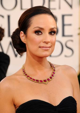 Catt Sadler - Beverly Hills - 11-01-2009 - Golden Globes: i gioielli