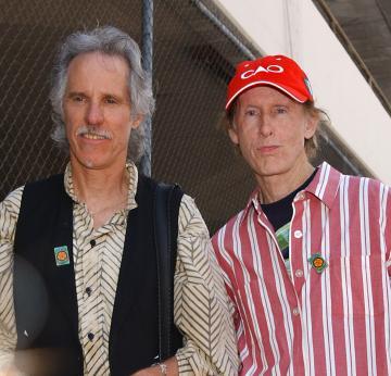 "Robby Krieger, John Densmore - Hollywood - 06-05-2005 - I ""Doors"" festeggiano i 40 anni"