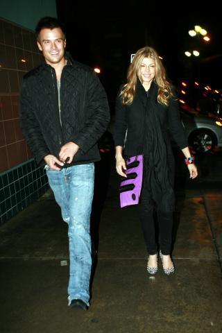 Fergie, Josh Duhamel - Santa Monica - 02-12-2007 -