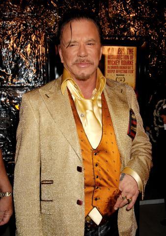 "Mickey Rourke - Westwood - 16-12-2008 - Mickey Rourke: ""Non ho mai usato steroidi"""