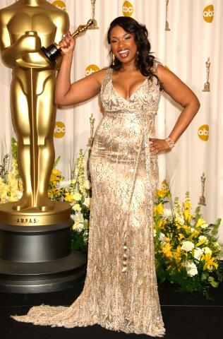 Jennifer Hudson - Hollywood - 26-02-2007 - Jennifer Hudson torna a cantare in pubblico