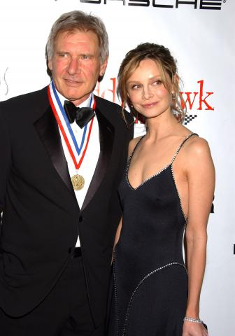 Harrison Ford, Calista Flockhart - Beverly Hills - 22-01-2009 - Calista Flockhart, fidanzata di Harrison Ford, non ha mai visto Star Wars