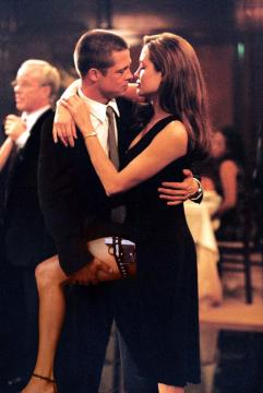 Angelia Jolie, Brad Pitt - Mr. and Mrs. Smith in arrivo in tv
