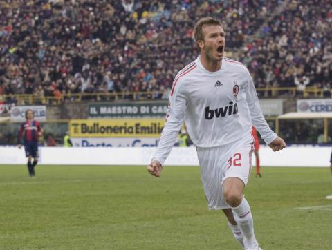 David Beckham - Bologna - 25-01-2009 - David Beckham tornerà a giocare a Los Angeles