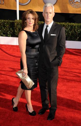 Talia Balsam, John Slattery - Los Angeles - 25-01-2009 - Talia Balsam: ma che hai fatto a George Clooney?