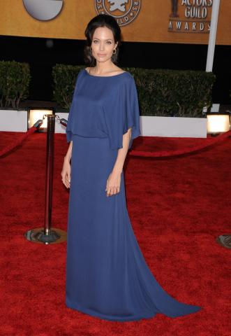 Angelina Jolie - Los Angeles - 25-01-2009 - Angelina Jolie e le (rarissime) volte che ha scelto il colore